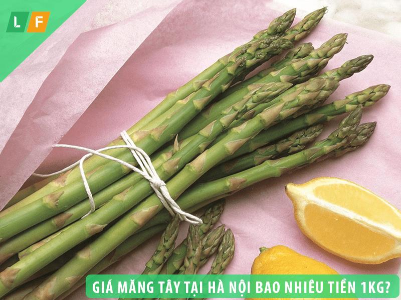 Giá măng tây tại Hà Nội bao nhiêu tiền 1kg – loại nào tốt nhất?